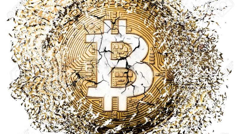 bitcoin explosion disintegration