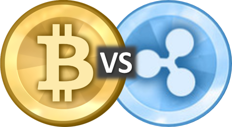 bitcoin-vs-ripple