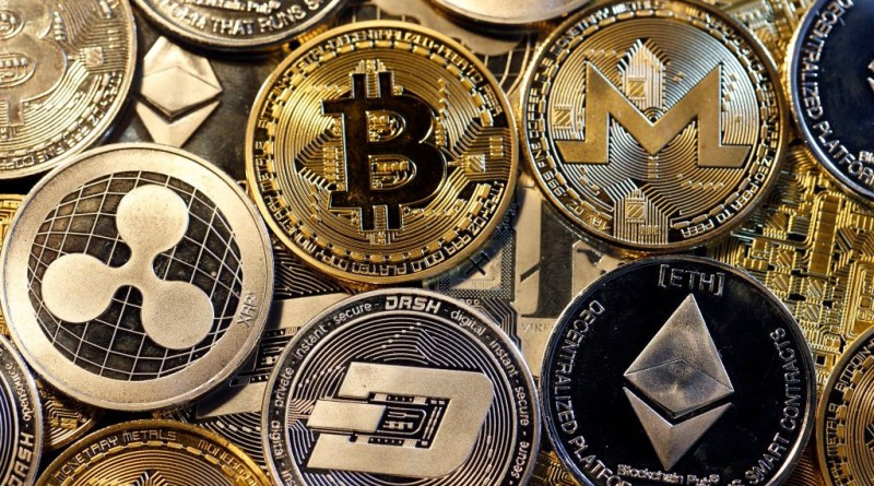 Cryptocurrency : Illustration