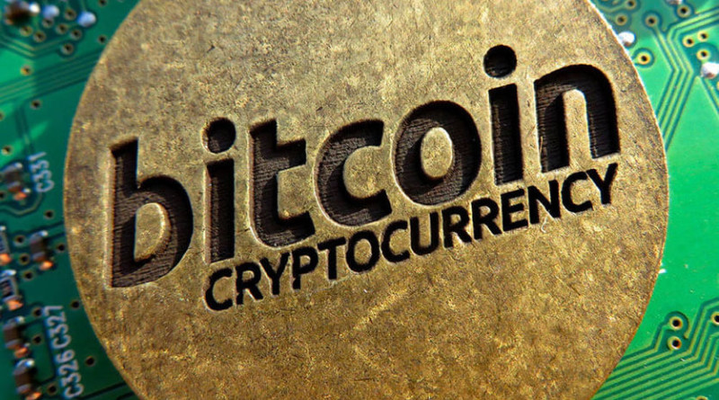 Bitcoin-cryptocurrency-coin
